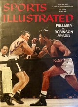 Gene Fullmer Signed Autographed 1957 Vintage Sports illustrated Magazine