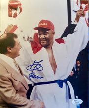 George Foreman Signed Autographed 8X10 Boxing Photo JSA