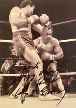 Gerry Cooney Signed Autographed 8x10 boxing photo with incriptions