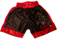 Iran Barkley hand made custom Signed Boxing Trunks JSA Certified