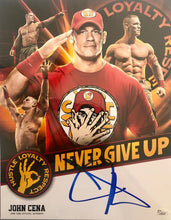 WWE John Cena 11x14 Signed Photo Official Autograph JSA certified