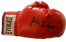 "Autographed Jake LaMotta ""The Ragging Bull"" Right hand Boxing Glove"