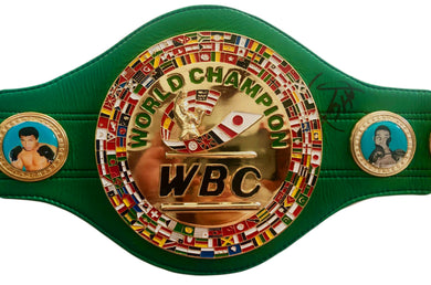 Heavyweight Champion Larry Holmes Autographed WBC Championship Full Size Belt