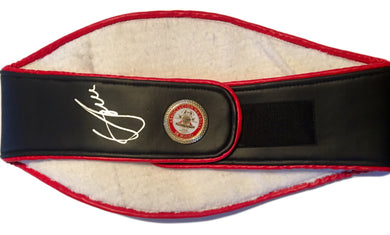 Vasyl Lomachenko Autographed Championship Boxing WBA Belt in Silver Signature