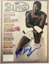 Matthew Saad Muhammad autographed 8x10 photo Boxing Great