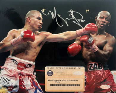 A4 - PREMIUM QUALITY 12 X 8 INCHES MIGUEL COTTO PHOTO PRINT PRE SIGNED