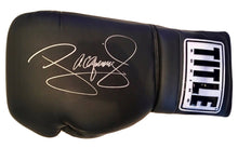 "Manny Pacquiao Huge 22"" Title Boxing Signed Autographed Black Boxing Glove"