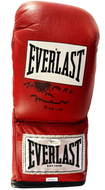 Muhammad Ali Autographed Everlast Boxing Glove with OA certification