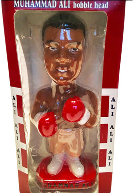 Muhammad Ali Very rare Boxing Bobble head doll action figure NEW IN BOX