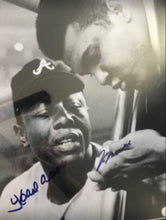Muhammad Ali and Hank Arron Dual signed Autographed 16 x 20 Photo, Steiner, MLB, OA
