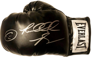 870ca5eca41 Riddick Bowe Left Hand Autographed with inscriptions Everlast Black Boxing  Glove