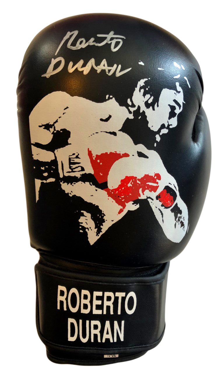 Roberto Duran Signed Rare Custom Boxing Glove