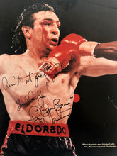 "Ray ""Boom Boom"" Mancini autographed Signed Inscribed 8x10 photo Rare"