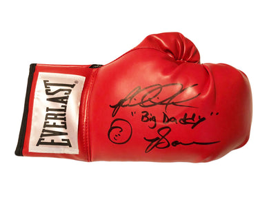 Riddick Bowe Right Hand Autographed with inscriptions Everlast Boxing Glove