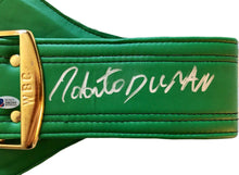 Roberto Duran Hands of Stone Autographed WBC Championship Full Size Belt