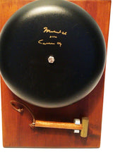 Scarce Full-Sized Muhammad Ali aka Cassius Clay Signed Autographed Boxing Ring Bell