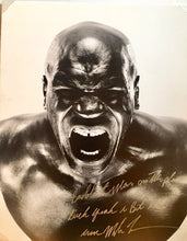 Mike Tyson Signed Custom size Photo Autographed with extra inscriptions