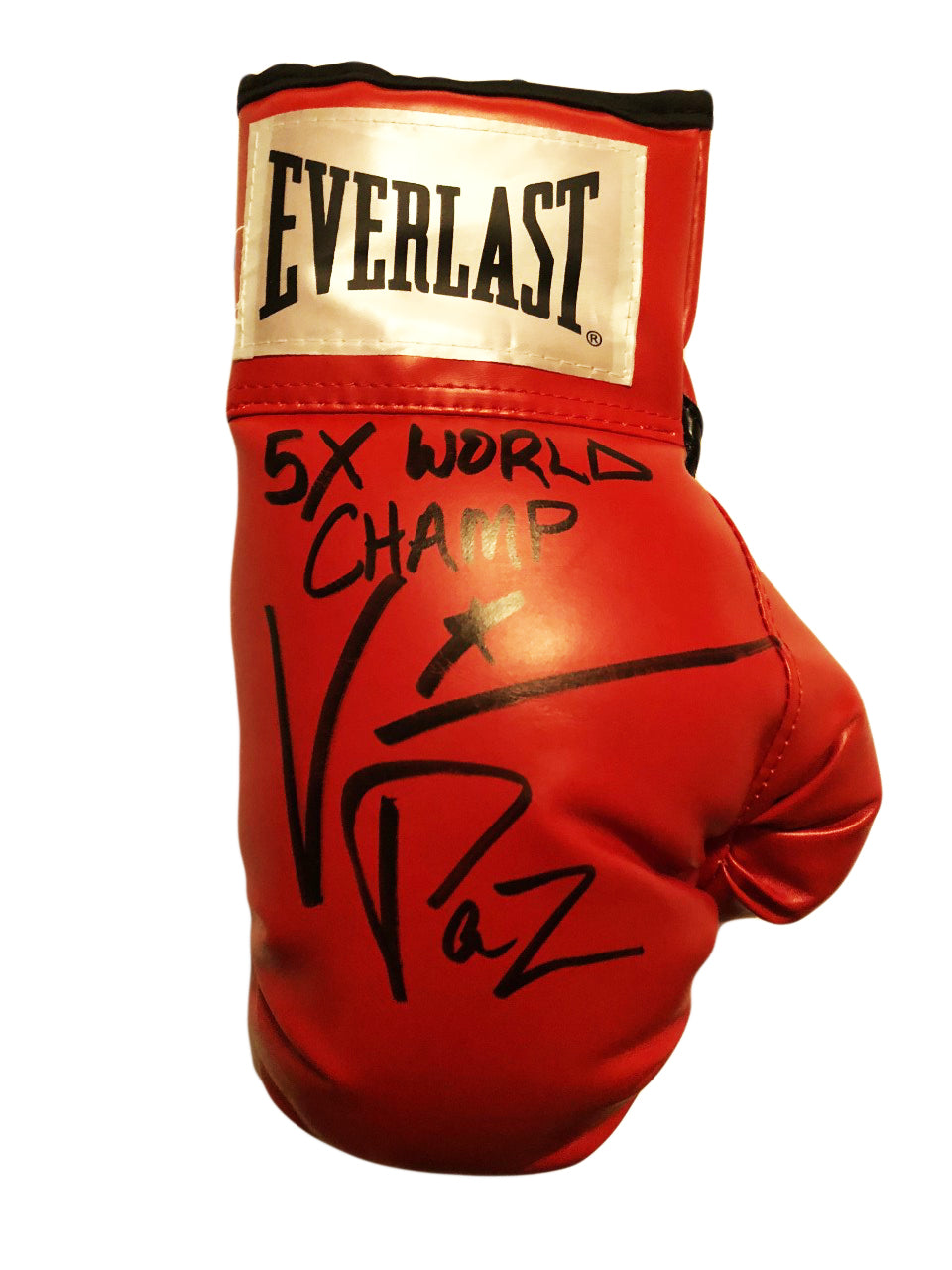Vinny Paz Pazienza Signed Autographed Boxing Glove 5X World Champ 50 Wins