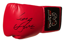 Vasyl Lomachenko Rare Autographed Rival Red Boxing Glove in Black Signature