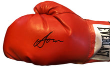 Vasyl Lomachenko New Rare Autographed Everlast Red Boxing Glove in Black Signature