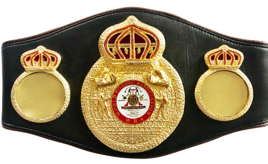 Unsigned Full-Size WBA Championship Boxing Belt