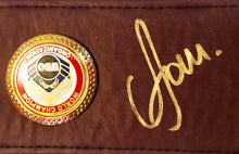 Vasyl Lomachenko Autographed Championship Boxing WBO Belt in Gold Signature