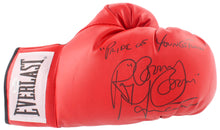 "Ray ""Boom Boom"" Mancini Signed Everlast Boxing Glove Inscribed ""Pride of Youngstown"" (JSA COA)"