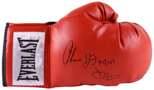 "Thomas ""Hitman"" Hearns Signed Everlast Boxing Glove Inscribed ""H.O.F 2012"" (JSA COA)"