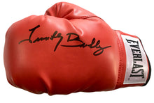 Timothy Bradley Red everlast Autographed boxing glove in Black marker