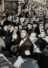 "Muhammad Ali Signed Rare ""One in a Million"" 30 X 45 Size B/W Photo Ali co. Certified LE"