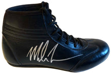 Mike Tyson Autographed Rare Black Custom made Boxing Boot JSA Certified