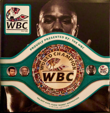 Floyd Mayweather Jr. Rare and Limited Edition Huge and Heavy WBC Book