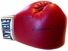 Muhammad Ali Autographed Red Everlast Old Vintage Boxing Gloves, Auction House