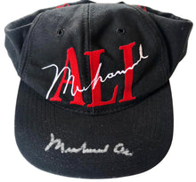Muhammad Ali signed autographed Ali cap or hat Pre-PSA Auction letter