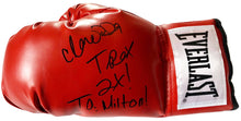 "Claressa ""T-Rex"" Shields autographed everlast boxing glove signed in Black Marker"