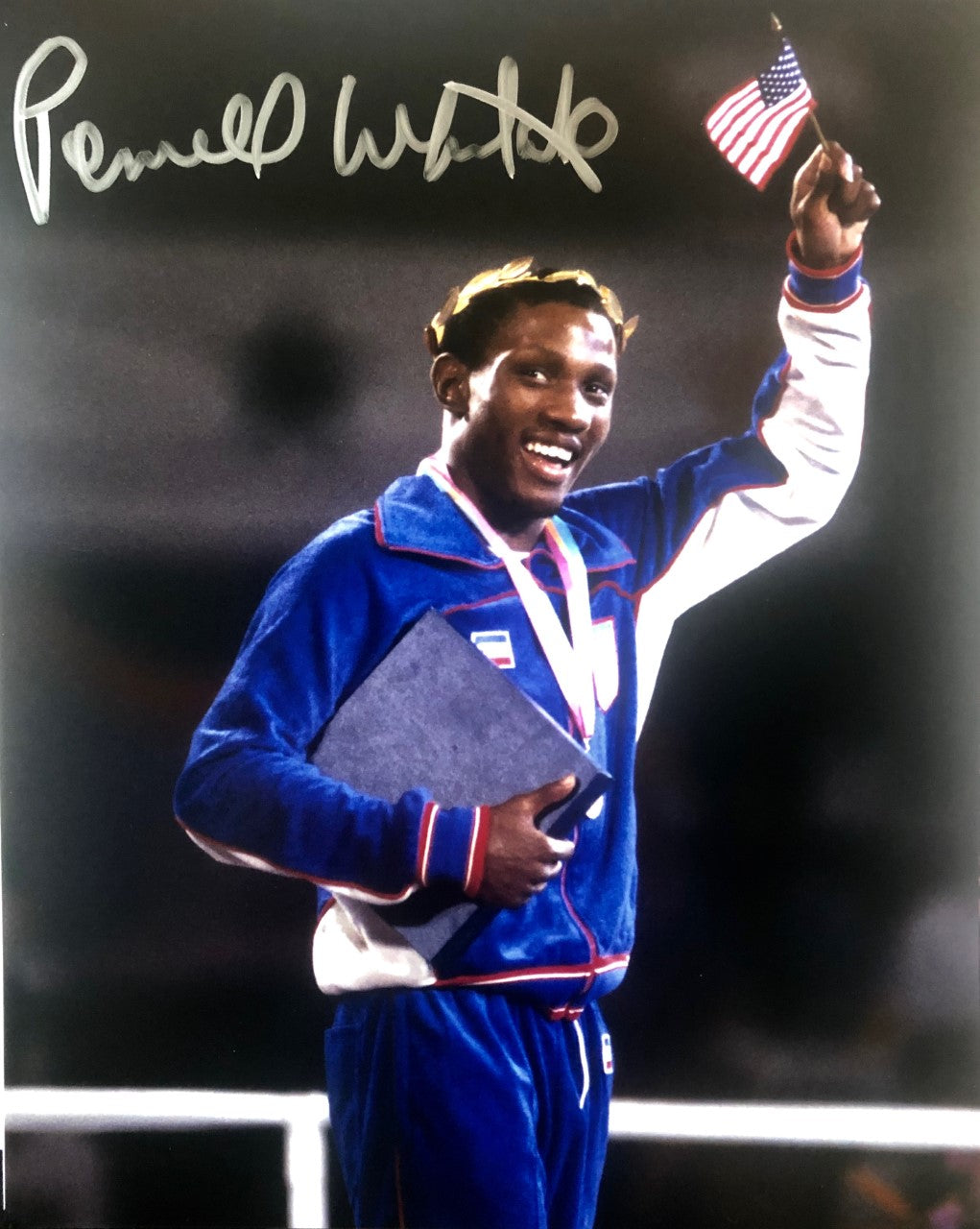Pernell Whitaker Signed 8x10 Photo of the Gold medalist in the 84 Olympics
