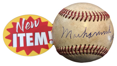 Vintage Muhammad Ali Signed Autographed used Baseball Authentic