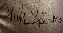 Michael Spinks Autographed Signed silver Reyes Boxing Glove Witnessed Photo