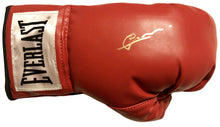 Gerald McClellan Autographed Red Everlast Boxing Glove WBO Champ
