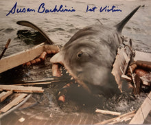 JAWS 1st Victim autographed 8x10 photo with Boat Attack in shark JAWS
