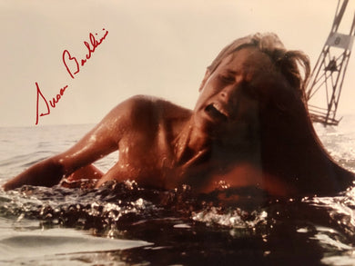 Susan Backlinie Signed 11x14 Photo Autographed, Jaws, Chrissie, 1st Victim