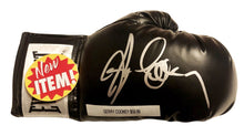 Gerry Cooney Signed Autographed Black everlast boxing Glove
