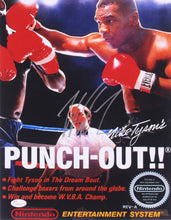 "Mike Tyson Signed ""Punch-Out!!"" 11x14 Photo (JSA COA)"