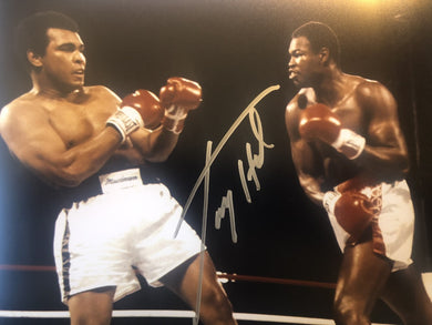 Larry Holmes vs Ali signed Autographed 8x10 Boxing Photo