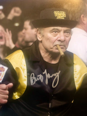 Burt Young Autographed Rocky 8x10 Boxing photo in silver