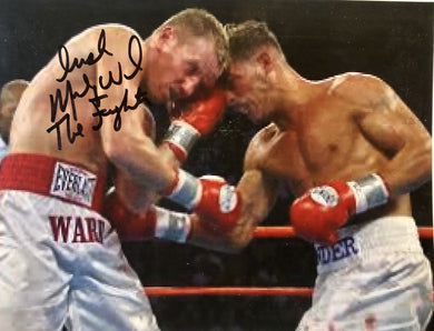 Micky Ward Autographed signed Boxing Photo - 8x10