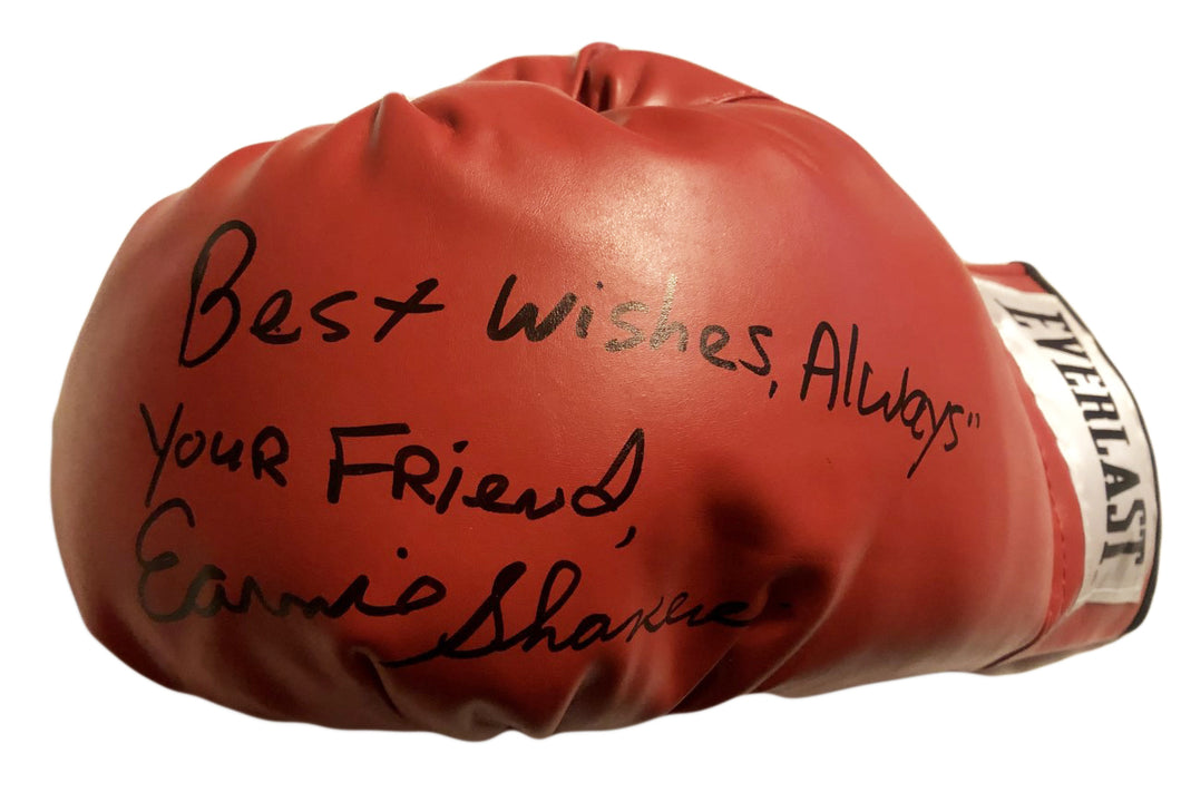 Earnie Shavers Signed Everlast Boxing Glove Rare! Photo proof.