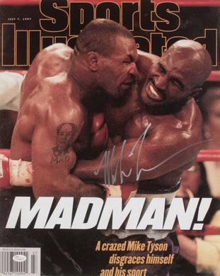 Mike Tyson Signed 16x20
