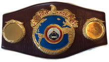 Roberto Duran Hands of Stone Autographed WBO Championship Full Size Belt
