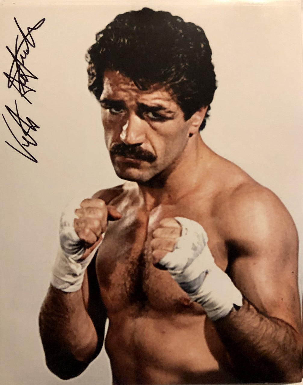 Vito Antuofermo Autographed signed Boxing 8x10 photo Certified Guaranteed